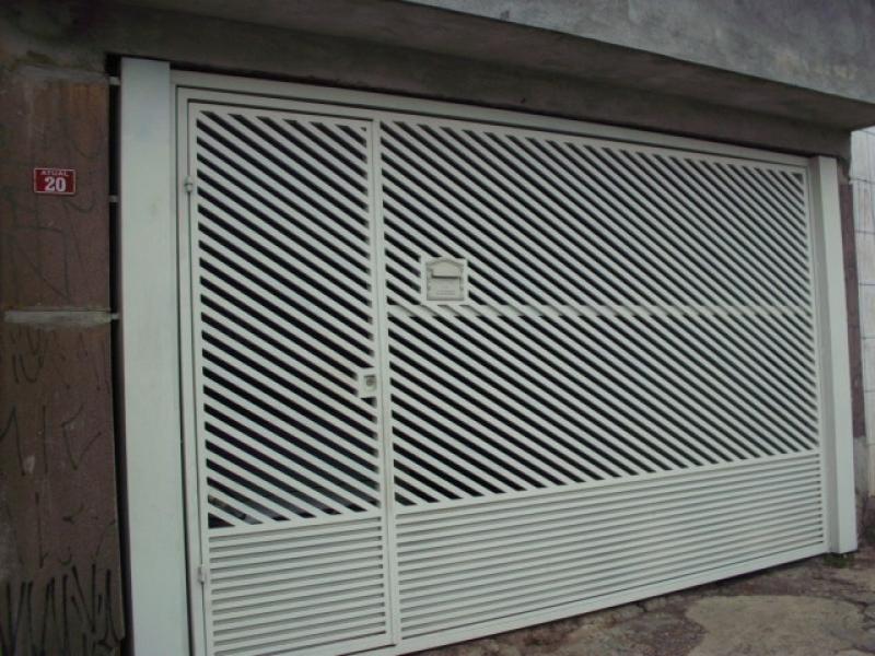 Conserto de Portão de Ferro em Louveira - Reforma de Portão de Garagem