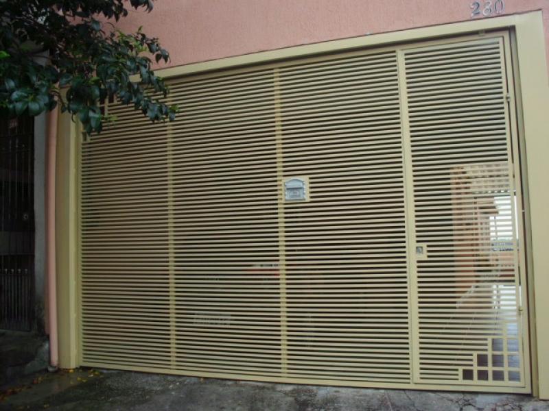 Empresa de Conserto para Portão de Ferro em Taboão da Serra - Reforma de Portão de Garagem