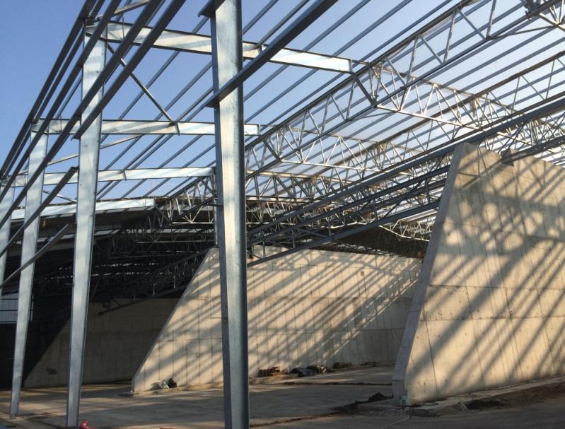 Estrutura Metálica para Hangar Preço em Itupeva - Estrutura Metálica para Galpão Industrial