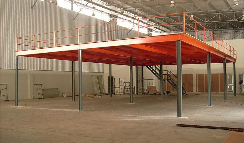 Mezanino Moderno Preço Aeroporto - Mezanino de Aço Galvanizado