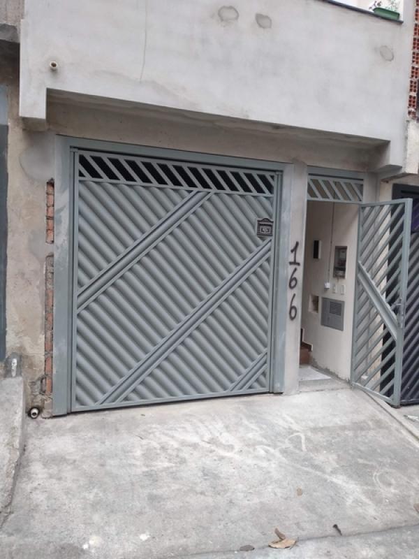 Portão Automático Preço Socorro - Portão Metálico de Correr