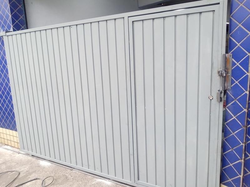 Portão Metálico de Correr Preço Nova Piraju - Portão Metálico com Tela