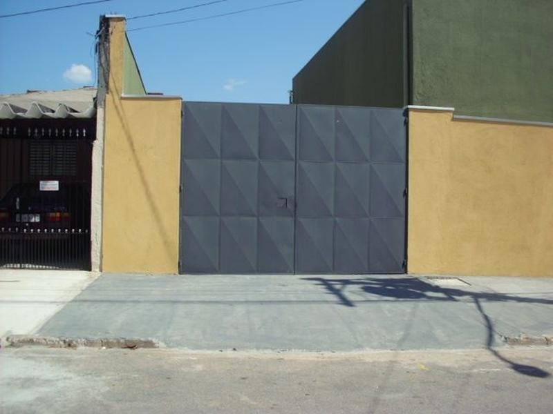 Portão Metálico para Garagem Piqueri - Portão Metálico Basculante