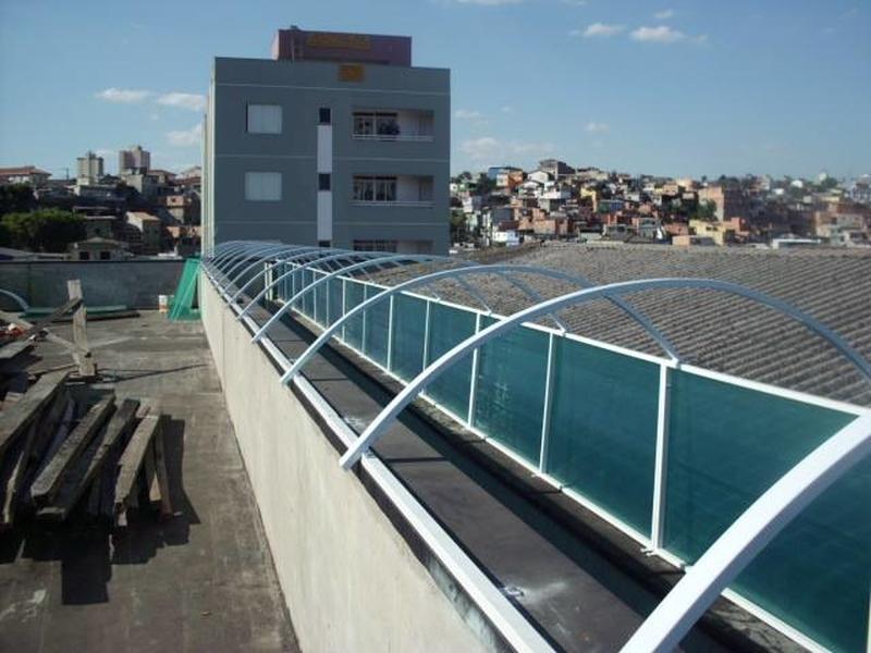 Quanto Custa Telhado Industrial Diadema - Telhado Metálico Galvanizado Tessa