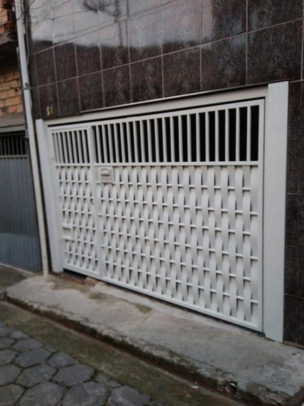 Reforma de Portão de Garagem Preço em Santo André - Conserto de Portão de Ferro