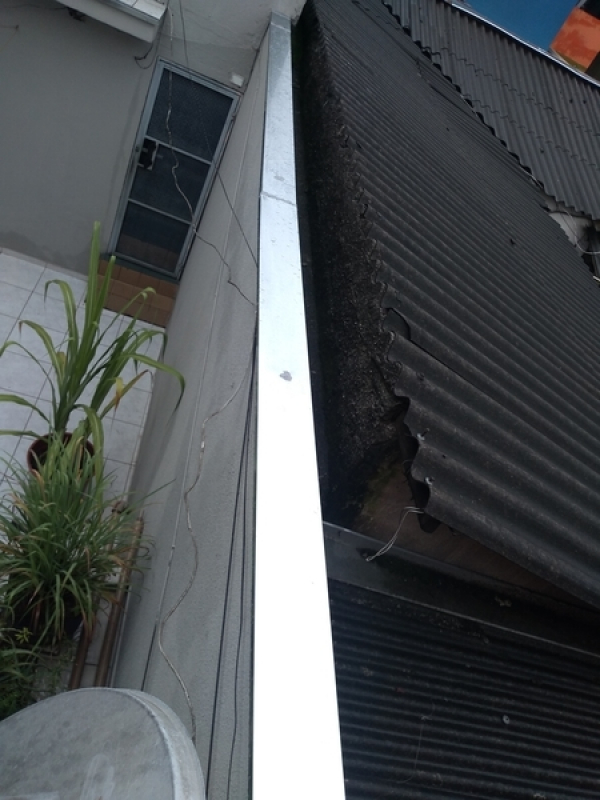 Rufos para Telhado de Amianto Preço Marapoama - Rufo Interno