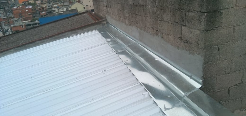 Rufos para Telhado Embutido Preço Vila Esperança - Rufos para Telhado de Amianto