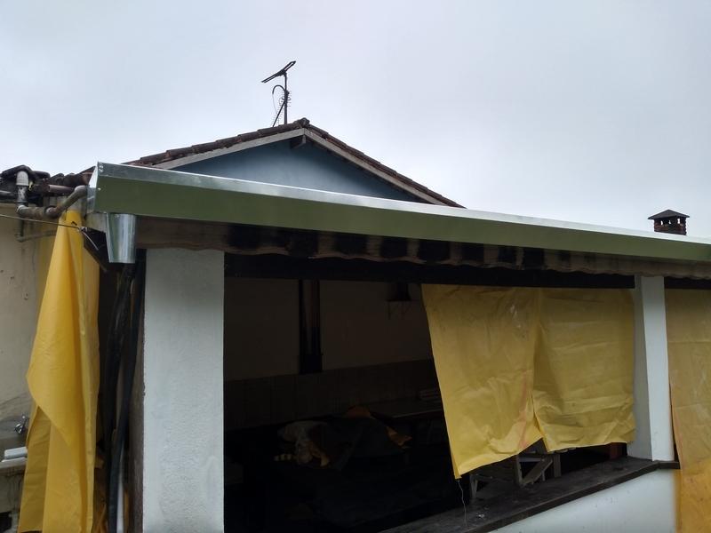Rufos para Telhado Embutido Campo Belo - Rufos para Telhado Embutido