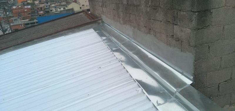 Rufos para Telhado Preço Limeira - Rufos para Telhado Embutido