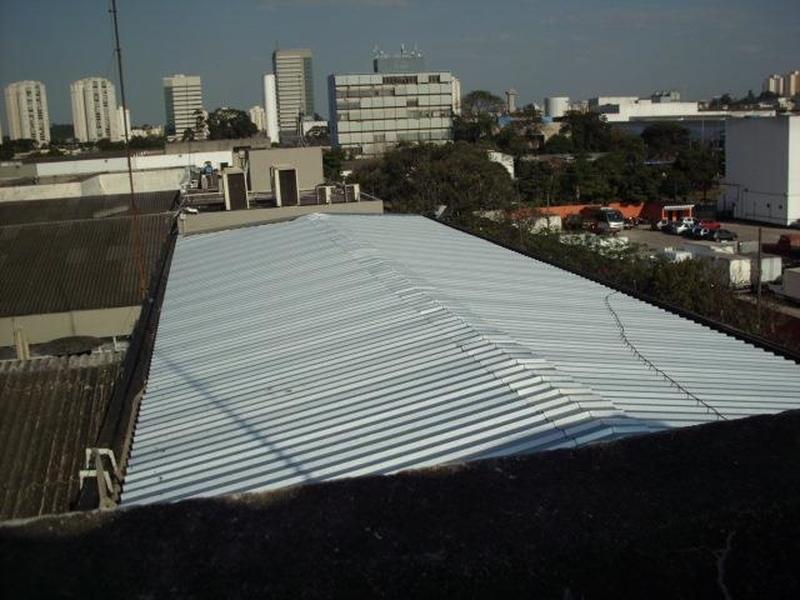 Telhado de Garagem Metálico Vila Ré - Telhado Metálico Galvanizado