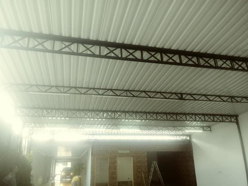 Telhado Metálico para Garagem Preço Caieiras - Telhado Metálico Termoacústico