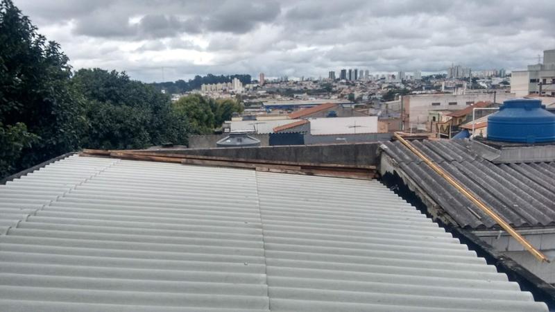 Telhado Metálico para Garagem Valor Santo André - Telhado Armação Metálica