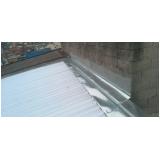 calhas para telhado embutido