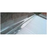 calhas para telhados