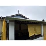 calha de chuva telhado