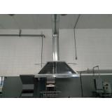 coifa para fogão industrial orçamento Aricanduva