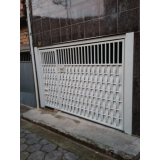 conserto de portão de garagem de ferro preço em Sorocaba