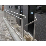 corrimão escada galvanizado valor Campinas