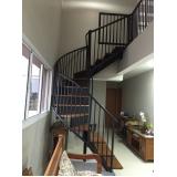 corrimão para escada de inox