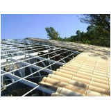 estrutura metálica galvanizada para telhado orçamento Jardim São Luiz