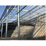 estrutura metálica para telhado preço Jardim Iguatemi