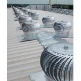 exaustor de teto eólico preço Ubatuba
