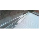 fabricante de calha chuva telhado Aeroporto