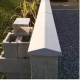 fabricante de pingadeira de alumínio para muro Parque São Jorge