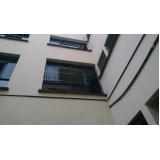 grades de ferro para proteção de porta em Suzano