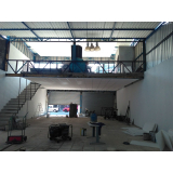 mezanino para garagem Cotia