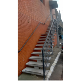 onde encontrar corrimão de escada de ferro galvanizado Vila Curuçá