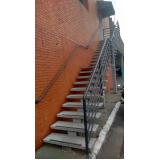 onde encontrar corrimão escada galvanizado Franco da Rocha