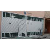onde encontro portão metálico com tela Parque São Jorge
