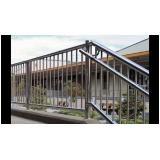 orçamento de guarda corpo de escada inox Parque Colonial