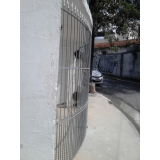 portão metálico basculante Jardim Morumbi
