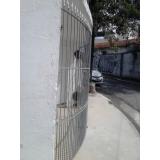 portão metálico de enrolar Caieiras