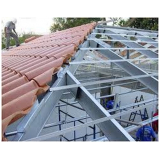 preço de estrutura metálica para telhado cerâmico Jardim Iguatemi