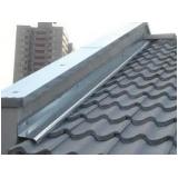 qual o valor de rufo de alumínio para telhado Cubatão