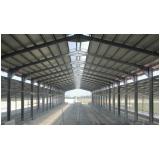 quanto custa estrutura metálica para hangar em Taboão da Serra