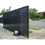 conserto de portão de garagem de ferro