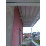 telhado de um galpões cotação Guarujá