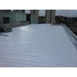 telhado metálico para galpões Litoral