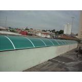 telhado metálico para garagem Francisco Morato