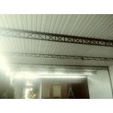 telhado de garagem metálico