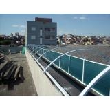 telhado metálico termoacústico