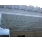 telhados em estruturas metálicas na Vila Morumbi
