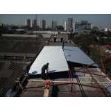 telhados para galpões industriais Piqueri
