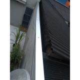 valor de calha chuva telhado Alphaville